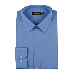 Formal Full Shirt from 4Forty in Blue Color