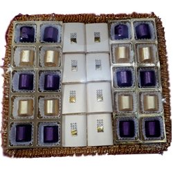 Luxurious Tray of 28 pcs. Handmade Chocolates