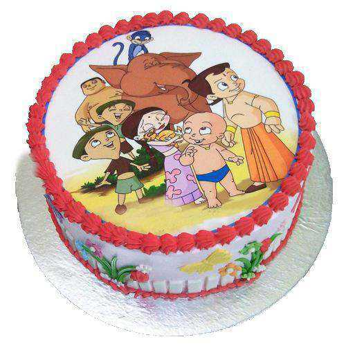 Toothsome Chota Bheem Cake