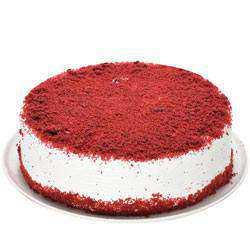 Fresh-Baked Eggless Red Velvet Cake