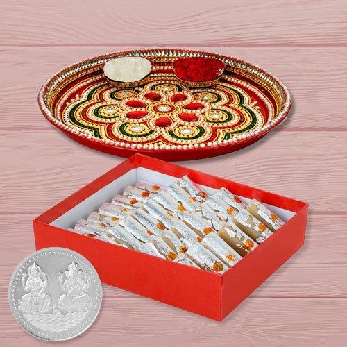 Haldiram Kaju Roll N Thali , Free Coin