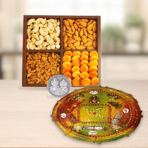 Dri Fruits N Thali , Free Coin