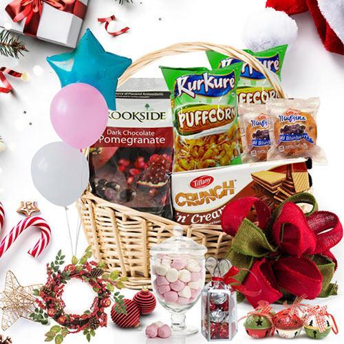 Taste of Christmas Love Gift Basket