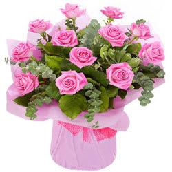 Premium Signature Pink Roses Bouquet