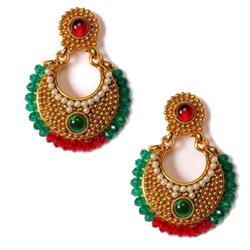Fancy Earring Set in Ethnic Design