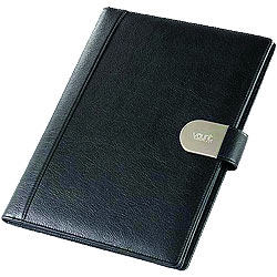 Classy Looking Faux Leather Conference Writing pad from Vaunt