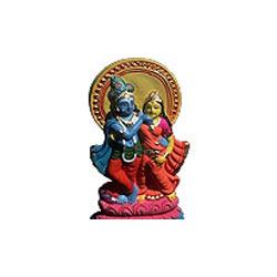 Portrait of Radha Krishna