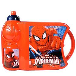 Impressive Kids Delight Spider Man Tiffin Set