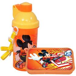 Eye-Catching Kids Essential Mickey Tiffin Set