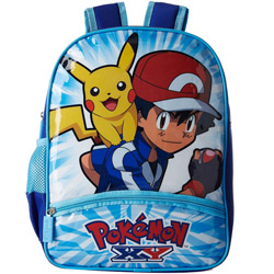 Superb Pokemon School Bag in Blue