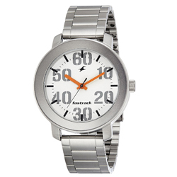 Stylish Gents Metallic Watch from Fastrack with Analog Display