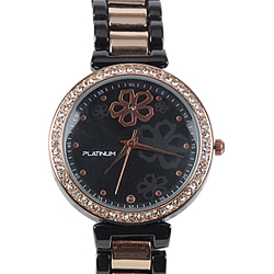 A Stunning Stone Studded Womens Watch