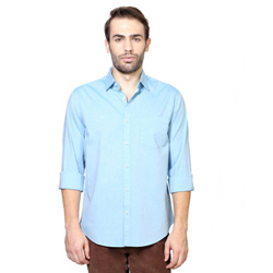 Swanky Light Blue Shirt from Peter England
