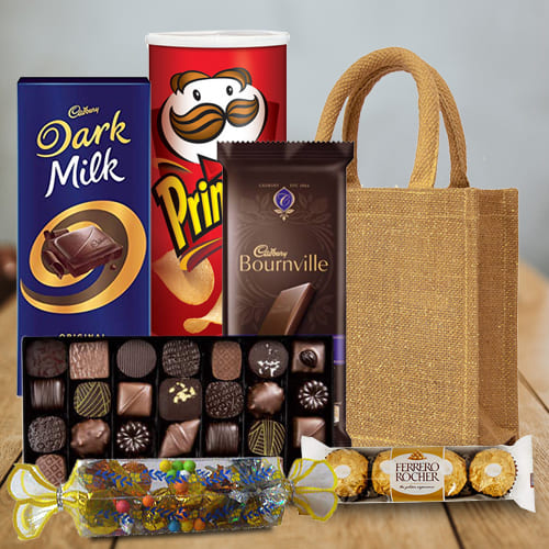Yummy Hamper of Assorted Chocos
