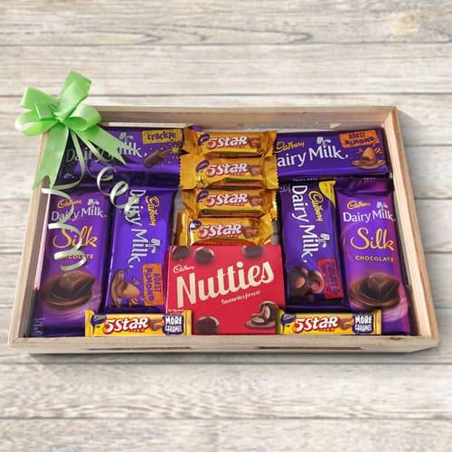 Classic Cadburys Chocs Gift Tray