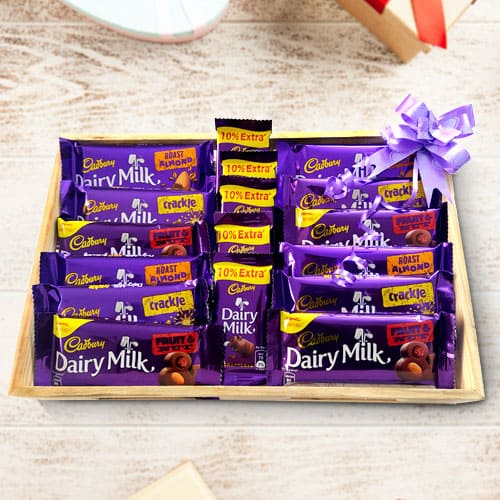 Mouth-Watering Mixed Chocolates from Cadbury
