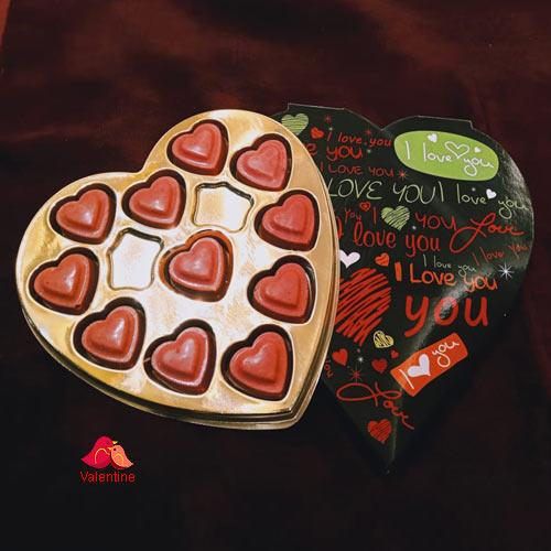 Yummy Heart Shape Strawberry Homemade Chocolate