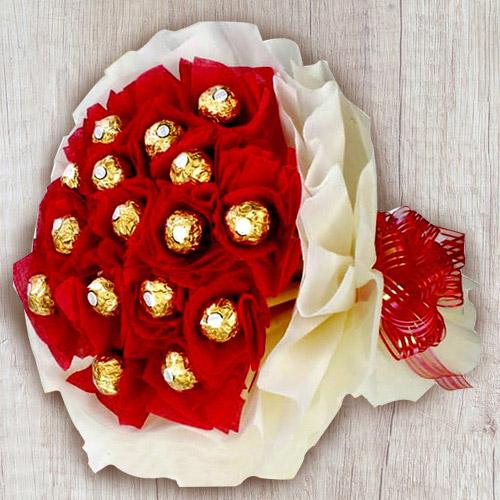 Marvellous Ferrero Rocher Chocolates Bouquet