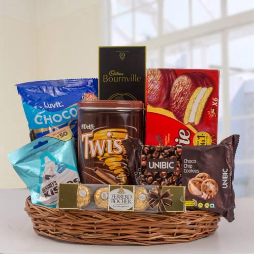 Exclusive Chocos Gift Basket