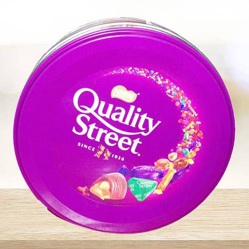 Delicious Nestle Quality Street Chocolates Box