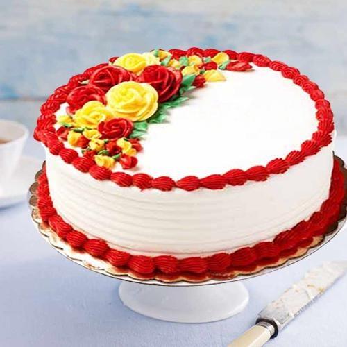 Relishing Happiness 1 Lb Vanilla Cake