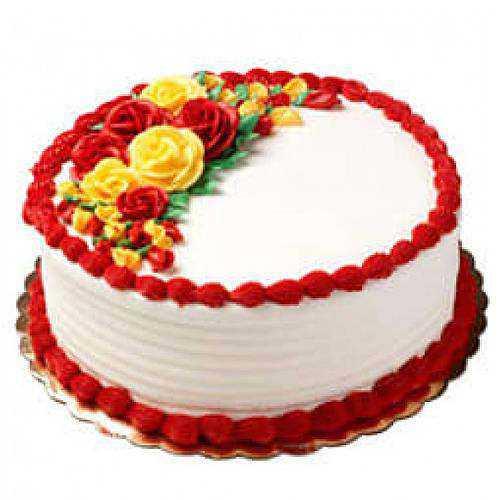 Luscious 1 Lb Vanilla Cake
