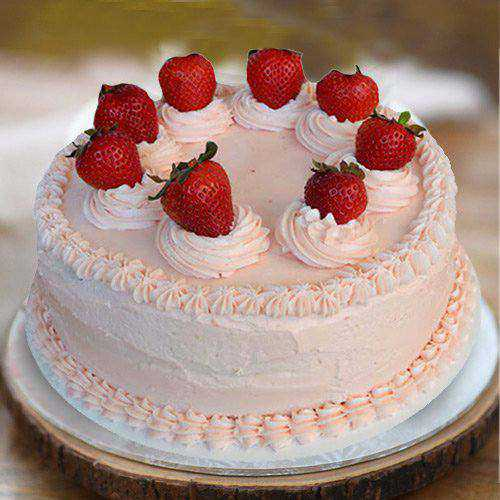 Exceptional 1 Lb Strawberry Cake from 3/4 Star Bakery