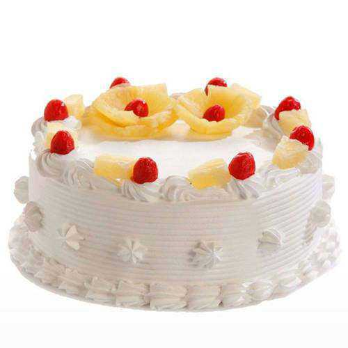 Yummy Pineapple Flavor Cake