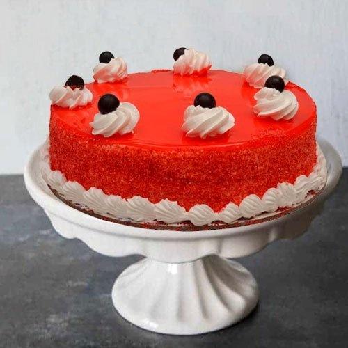 Delicious 1 Lb Red Velvet Cake