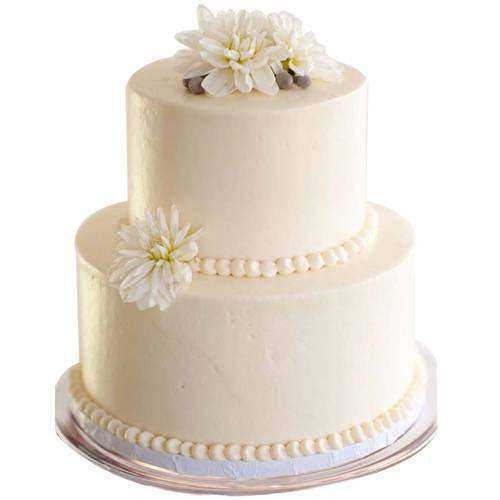 Marvelous 2 Tier Wedding Cake