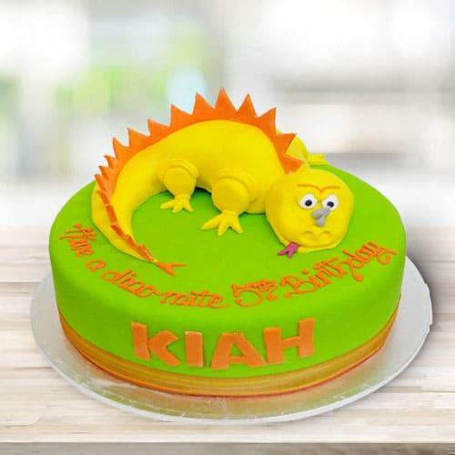 Delectable Dino Kids Cake