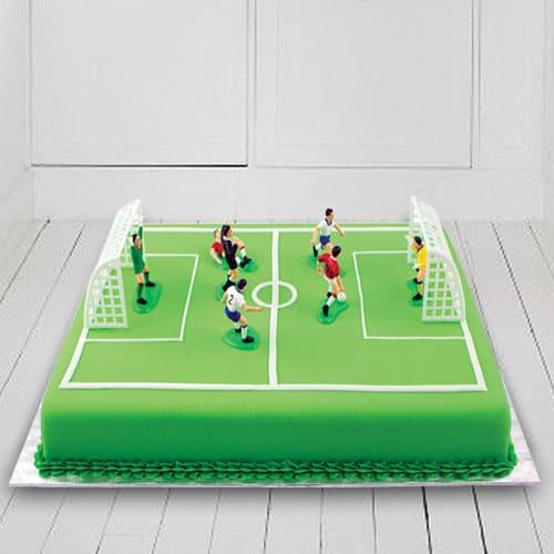 Amazing Football Ground Cake