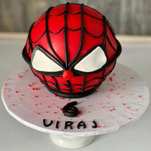 Marvelous Spider Man Round Hammer Cake