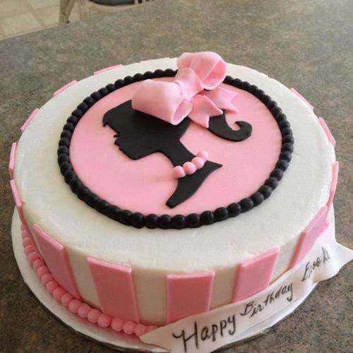 Garnished Kids Special Barbie Theme Cake