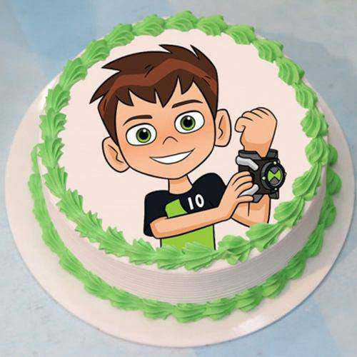 Bakery-Fresh Ben 10 Special Cake