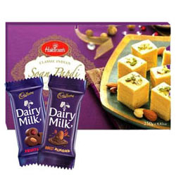 Marvelous Combo of Choco N Sweets Gift Hamper