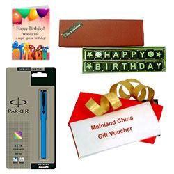 Astonishing Present of Mainland China Gift Voucher worth Rs.1000
