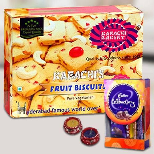 Crispy Cookies nd Chocolates for Diwali