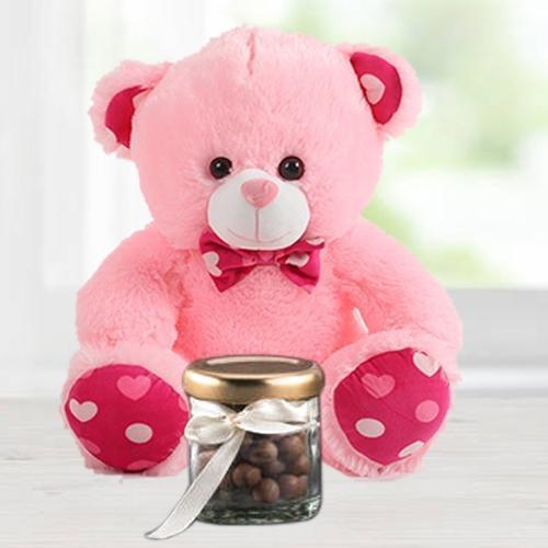 6 inch Teddy with Cadbury Nutties