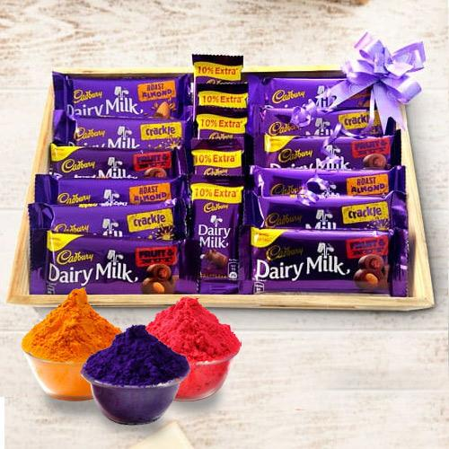 Exclusive Cadburys Holi Gift Hamper
