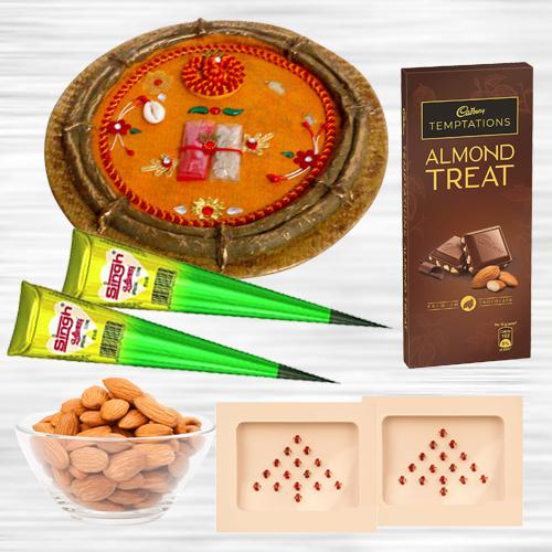 Exclusive Karwa Chauth Pooja Hamper with Cadbury Chocolate