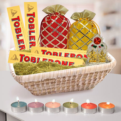 Remarkable Chocolates N Assortments Gift Hamper for Diwali