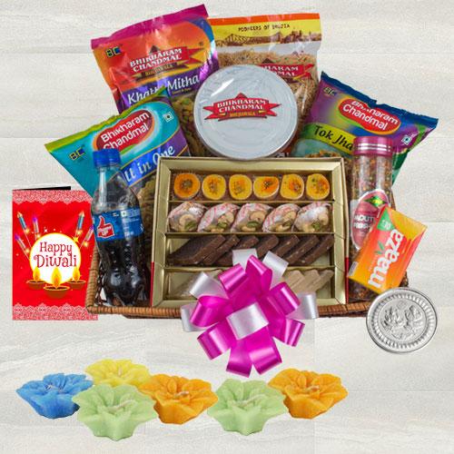 Marvelous Diwali Sweets N Savory Gift Hamper
