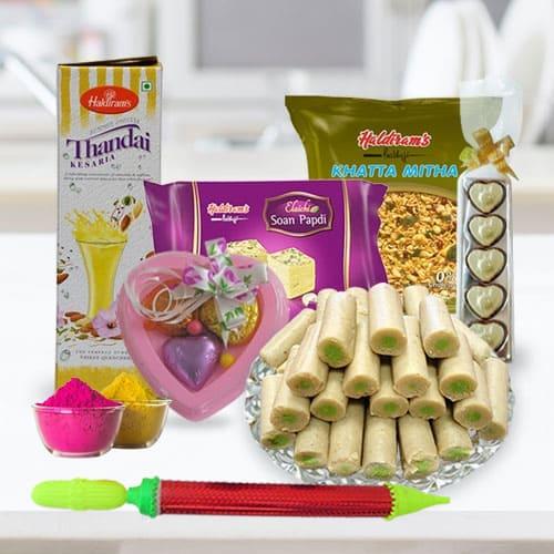 Delightful Holi Food Assortments Gift Hamper