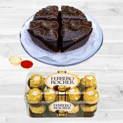 Yummy Ferrero Rocher Chocos N Pastries