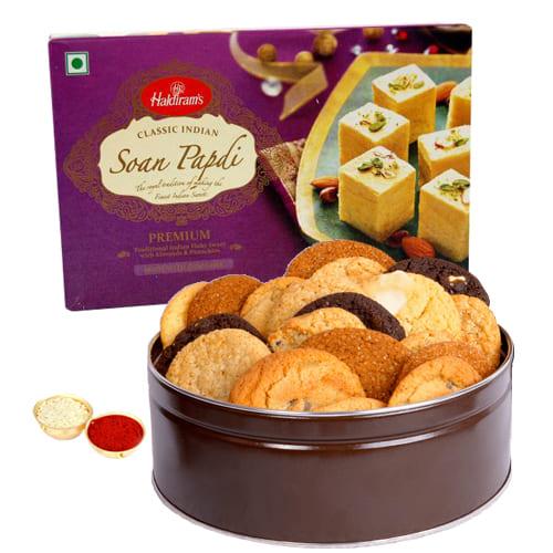 Yummy Mixed Cookies N Soan Papdi