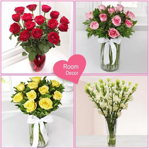 Sensational Flowery Room Valentine Gift