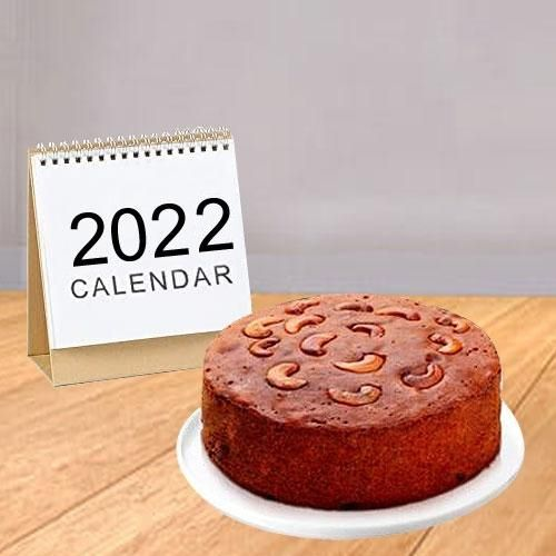 Desk Calender N Cake
