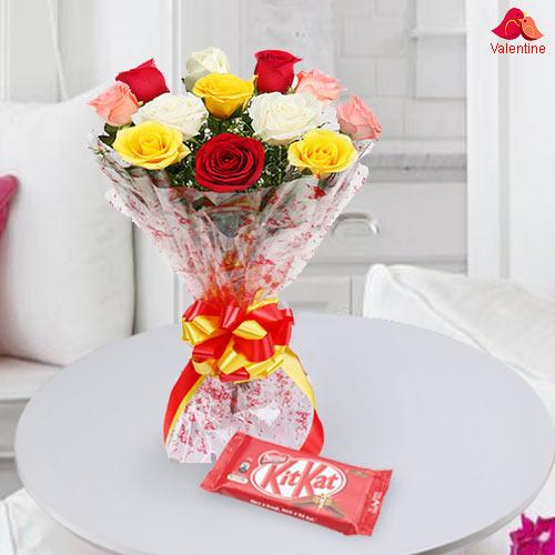 Roses n Kitkat