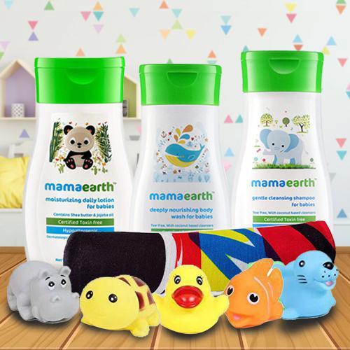 Babys No Tear Bathing Gift Hamper